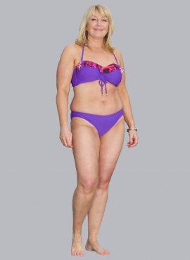 African Violet Bikini Briefs