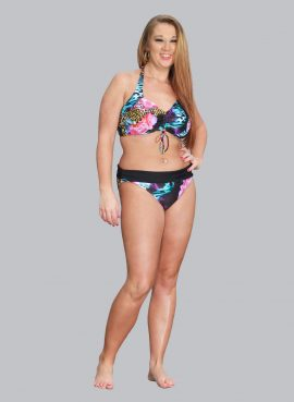 Floral Safari Bikini Briefs