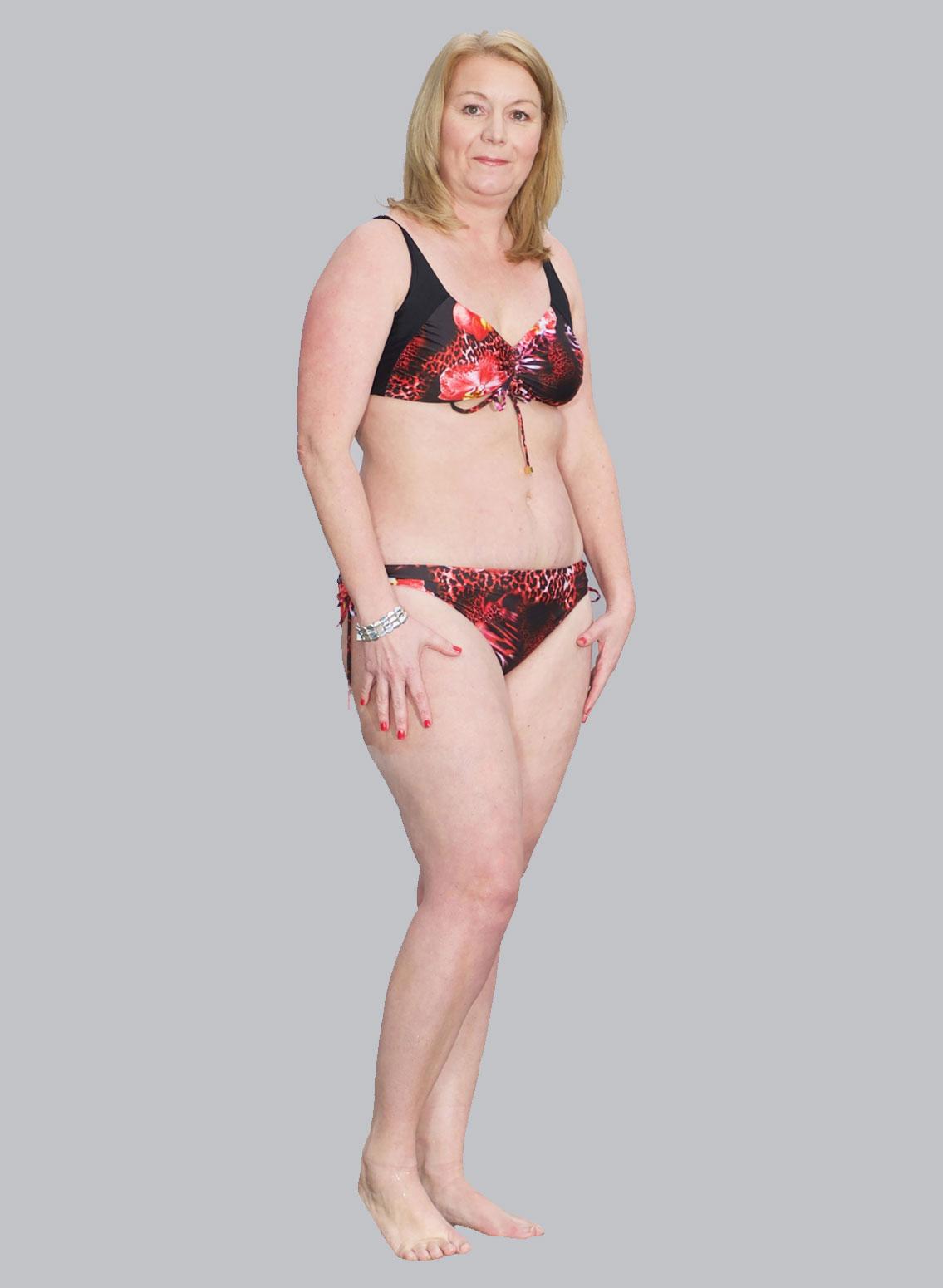 Brave Ladies African Violet bikini in size 12-14