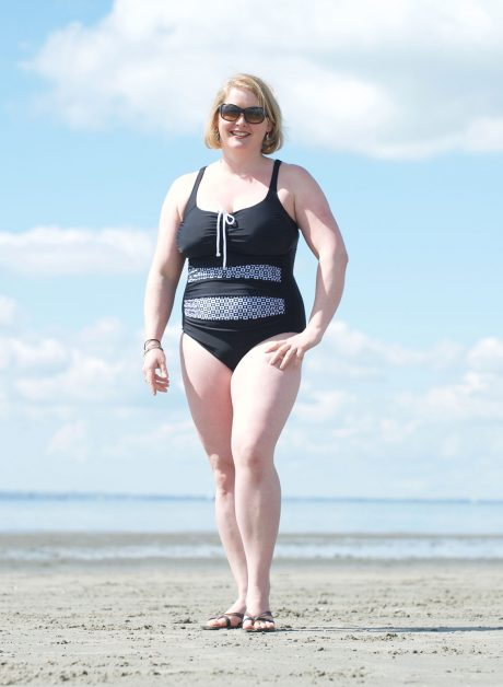 Choc – a – Bloc Swimming Costume