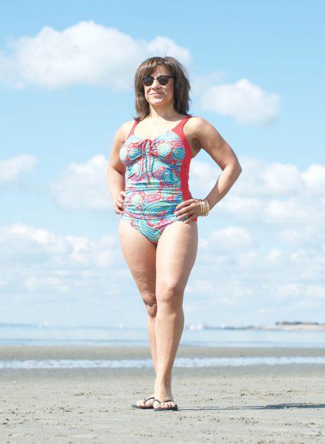 Spirited Paisley Swimming Costume